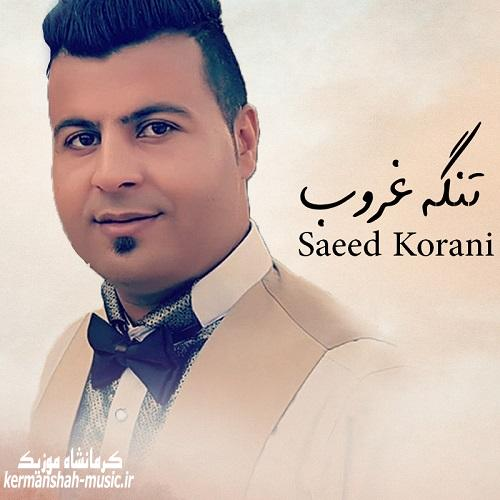saeed korani 1 - دانلود آهنگ سعید کرانی به نام تنگ غروب